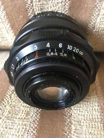 2.8/37 Russian lens for zenit or Any screw camera