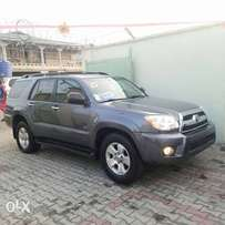 Tincan cleared 2006 Toyota 4runner Gray color