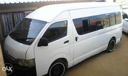 Toyota Quantum 15 seater in best condition for R120 000