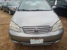 Nigerian used Toyota Corolla 2004 Model