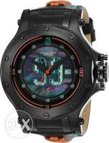 INVICTA Jason Taylor 25322 AUTOMATIC 52MM BLACK Case Black Dial