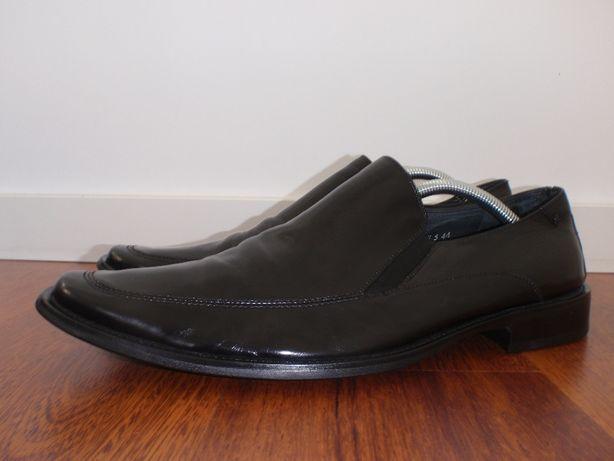f1f8699b skórzane buty do garnituru męskie Kazar czarne r.44 skóra Nowy Sącz - image  1