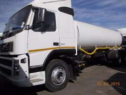 a 18 000litres of volvo water tank up for sale
