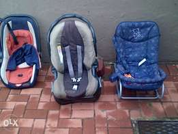 graco, chellino and rocking chair