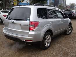 Subaru forester Silver colour 2010 model excellent condition DEAL