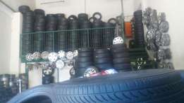 All tyres and rims and wheelcovers