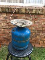 5kg gas bottle with gas plate (empty) for sale