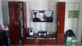TV stands and couches