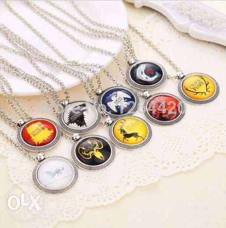 New Design Trinket Necklace Game of Thrones The Song of Ice and Fire P