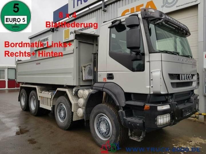 Iveco 340T45 Trakker 8x4 Bordmatik Links/Rechts/Hinten - 2010