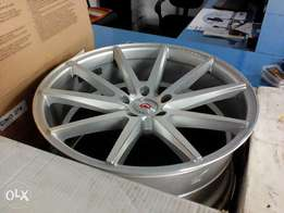 VOOSEN 20inch 9.5j and 10.5j. ti fit bmw (120x5)