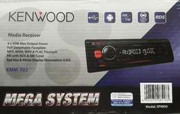 Kenwood Car Audio System - Brand NEW