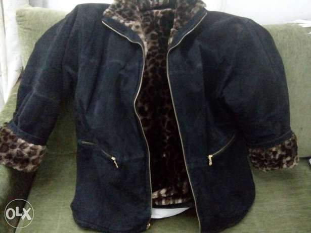jacket double face size 2 XL. too heavy