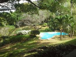 4 bedroom house on 2.5 Acres for rent ,Nyali