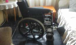 Wheel chair new used 1 day 2000 my price neva went out in seshego