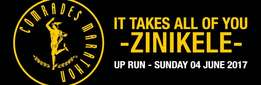 Comrades Marathon 4 June 2017 - self catering accommodation Durban
