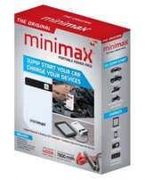 MiniMax 12-Volt Portable Power Pack - Jump Start Kit