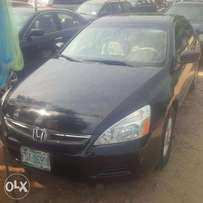 Nigerian Used Honda Accord 2007, DC. Very OK
