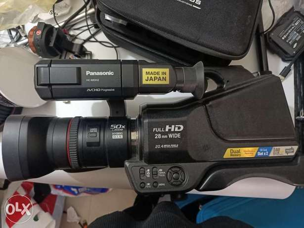 Full hd camcorder with 2 SD card slot