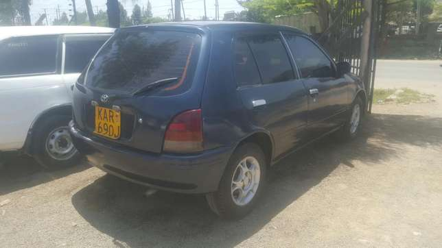 Toyota Starlet, Manual transmission, very clean. Buy and Drive Embakasi - image 2
