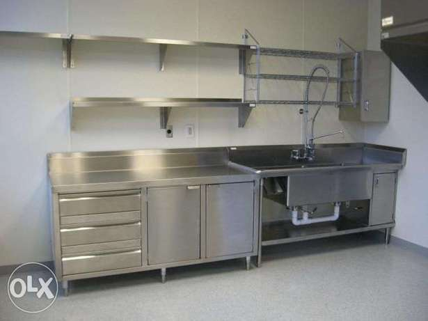 Complete stainless steel kitchen equipment customising