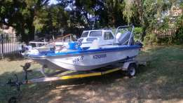 St Lucia bass and Bay boat