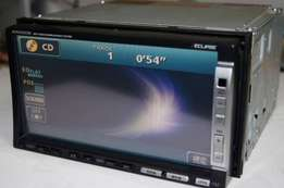 Eclipse 5505D radio:Dvd/mp3/aux:For Toyota,nissan,subaru,honda,vw:9500