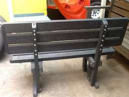 "Recycled bench ""more available"" 2 seater new (BHP668)"