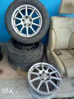 Mark x original rims size 16 suitable for the new and old models