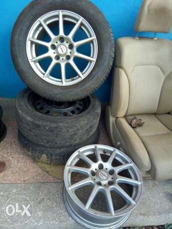 Mark x original rims size 16 suitable for the new and old models Utawala - image 1