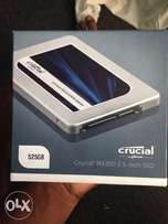 525GB crucial solid state drive