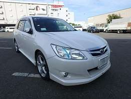 Subaru Exiga KCM number 2010 model loaded with good music system ,