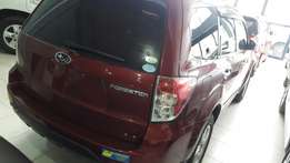Subaru forester wine red,