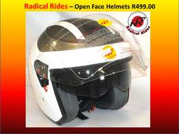 Open Face Helmet. EEC approved
