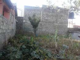 1/8 acre on sale in Muchatha, 10 meters to Clifftop Apartments.