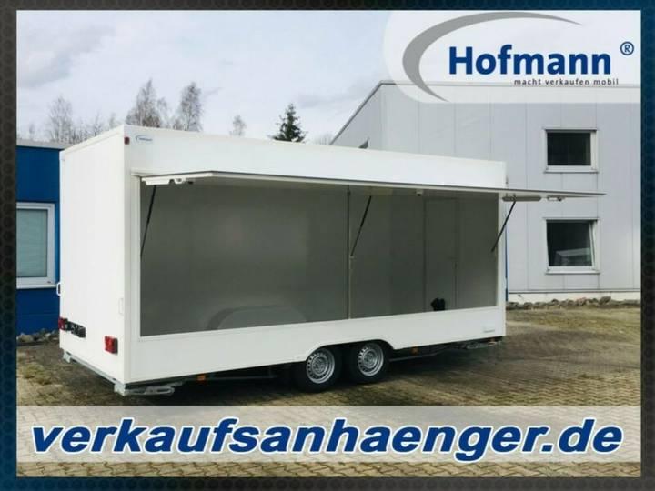 Hofmann verkaufsanhänger 520x230x230cm 2500kggg