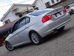 BMW 320i Facelift 2010 model silver colour Just arrived.