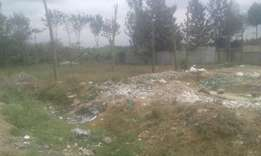 Commercial plot fronting Eastern bypass at Kangundo Rd junction. 1/4ac