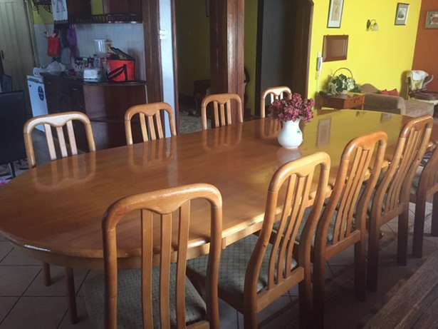 10 seater hard wood dining table (made in Malaysia) Langata - image 1