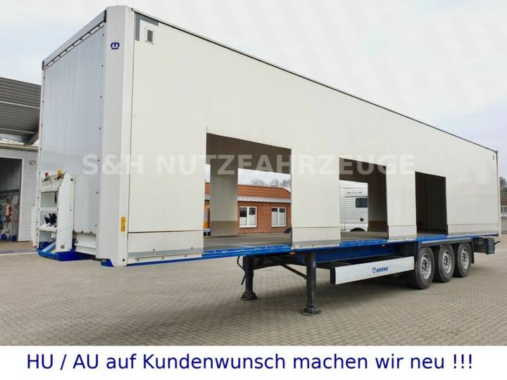 Krone Dry Liner Isolierte Koffer EZ 2019 - 2014