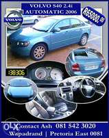 volvo 2006 for sale s40 .24i just like new .