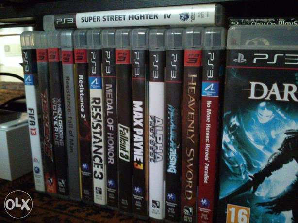 Playstation 3 Games / 50sr a piece