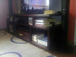 Special solid TV stand