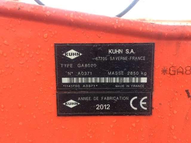 Kuhn Ga 8020 - 2012 - image 7