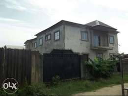 6bedroom duplex attached with 4blocks of 3bedroom flat all ensuite