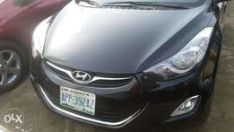 A Clean Registered Black Colour Hyundai Elantra 2013. Price N2,900,000