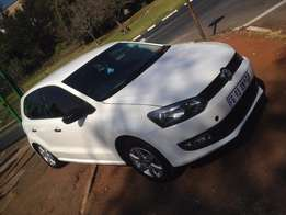2011 polo 6 1.6 with 114000km white in color R105000