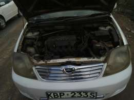 Toyota fielder,very clean,accident free,orig.inal paint