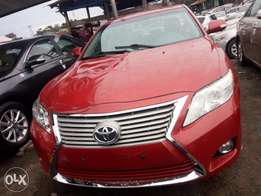 2010 Toyota Camry for sale at affordable car. Maroon color