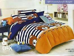 4by6 kids duvets with pillow cases and bedsheet matching